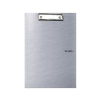 Dvojdeska s klipem Metallic A4 - PVC, stříbrná
