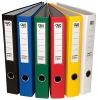 Pákový pořadač - 5 cm, A4, poloplastový, rado zámek, oranžový