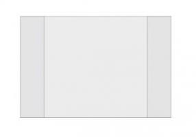 Obal na školní sešit - A5, transparentní, 1 ks