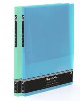 Katalogová kniha Pastelini - A4, plastová, 20 kapes, modrá