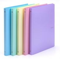 Čtyřkroužkový pořadač A4 Pastelini - hřbet 2 cm, plastový, fialový