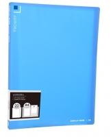 Katalogová kniha Deli Aurora EB02422 - A4, plastová, 20 kapes, modrá