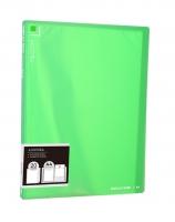Katalogová kniha Deli Aurora EB02422 - A4, plastová, 20 kapes, zelená