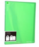 Katalogová kniha Deli Aurora EB02532 - A4, plastová, 30 kapes, zelená