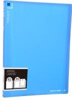 Katalogová kniha Deli Aurora EB02622 - A4, plastová, 40 kapes, modrá