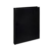 Čtyřkroužkový katalogový vazač A4 Personal D15 - hřbet 2,5 cm, tvrdý plast, černý