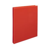Čtyřkroužkový katalogový vazač A4 Personal D15 - hřbet 2,5 cm, tvrdý plast, červený