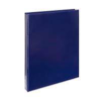 Čtyřkroužkový katalogový vazač A4 Personal D15 - hřbet 2,5 cm, tvrdý plast, modrý