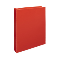 Čtyřkroužkový katalogový vazač A4 Personal D30 - hřbet 5 cm, tvrdý plast, červený