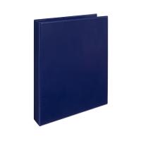 Čtyřkroužkový katalogový vazač A4 Personal D30 - hřbet 5 cm, tvrdý plast, modrý