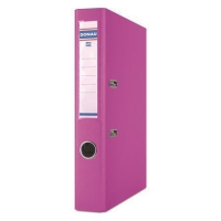 Pákový pořadač A4 Donau Master - 5 cm, poloplastový, růžový