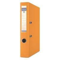 Pákový pořadač A4 Donau Master - 5 cm, poloplastový, oranžový