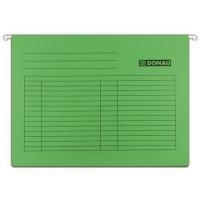 Závěsná papírová deska Donau - A4, 230 g/m2, zelená