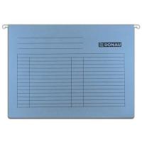 Závěsná papírová deska Donau - A4, 230 g/m2, modrá