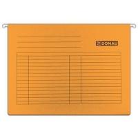 Závěsná papírová deska Donau - A4, 230 g/m2, oranžová