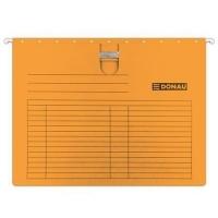 Závěsná papírová deska s rychlovazačem Donau - A4, 230 g/m2, oranžová