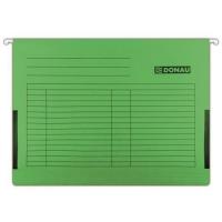 Závěsná papírová deska s bočnicemi Donau - A4, 230 g/m2, zelená