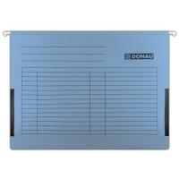 Závěsná papírová deska s bočnicemi Donau - A4, 230 g/m2, modrá