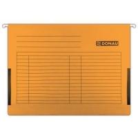 Závěsná papírová deska s bočnicemi Donau - A4, 230 g/m2, oranžová