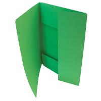 Odkládací mapa Classic - A4, 3 klopy, zelená
