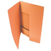 Odkládací mapa Classic - A4, 3 klopy, oranžová