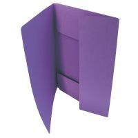 Odkládací mapa Classic - A4, 3 klopy, fialová
