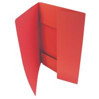 Odkládací mapa Classic - A4, 3 klopy, červená