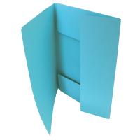 Odkládací mapa Classic - A4, 3 klopy, světle modrá