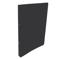 Dvoukroužkové desky A4 - hřbet 2,5 cm, prešpán, černé