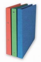 Dvoukroužkové desky A4 - hřbet 2,5 cm, prešpán, modré