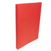 Dvoukroužkové desky A4 - hřbet 2,5 cm, prešpán, červené