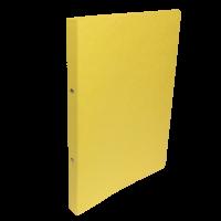 Dvoukroužkové desky A4 - hřbet 2,5 cm, prešpán, žluté