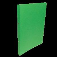 Dvoukroužkové desky A4 - hřbet 2,5 cm, prešpán, zelené