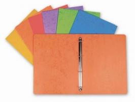 Čtyřkroužkové desky A4 - hřbet 2,5 cm, prešpán, oranžové