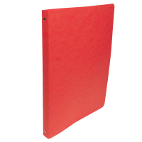 Čtyřkroužkové desky A4 - hřbet 2,5 cm, prešpán, červené