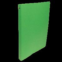 Čtyřkroužkové desky A4 - hřbet 2,5 cm, prešpán, zelené