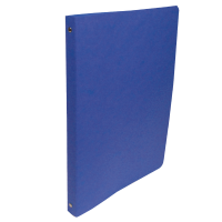 Čtyřkroužkové desky A4 - hřbet 2,5 cm, prešpán, modré