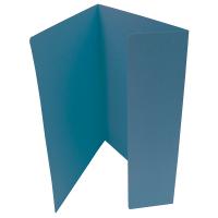 Odkládací mapa Classic - A4, 1 klopa, modrá
