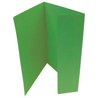 Odkládací mapa Classic - A4, 1 klopa, zelená