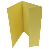 Odkládací mapa Classic - A4, 1 klopa, žlutá