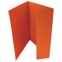 Odkládací mapa Classic - A4, 1 klopa, oranžová
