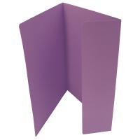 Odkládací mapa Classic - A4, 1 klopa, fialová