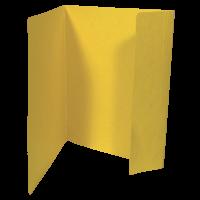 Odkládací mapa Prešpán  A4, 1 klopa, žlutá