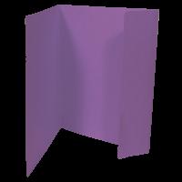 Odkládací mapa Prešpán - A4, 1 klopa, fialová