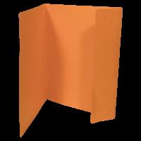 Odkládací mapa Prešpán - A4, 1 klopa, oranžová