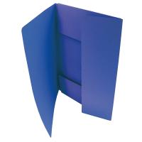 Odkládací mapa Classic - A5, 3 klopy, modrá