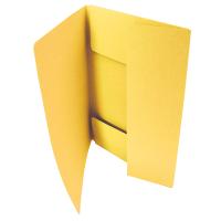 Odkládací mapa Classic - A5, 3 klopy, žlutá