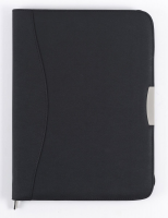 Diplomatka na zip Beta - A4, kalkulačka, blok 50 listů, černá
