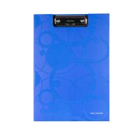 Dvojdeska s klipem A4 Neo Colori - jednoduchá, lamino, modrá