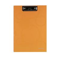 Dvojdeska s klipem A4 Neo Colori - jednoduchá, lamino, oranžová